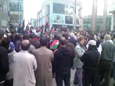 Birmingham Gaza Flotilla Demo May 31 2010