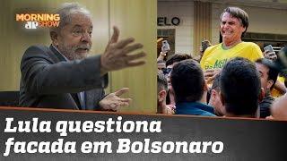 Lula chama Moro de mentiroso e põe em dúvida facada em Bolsonaro