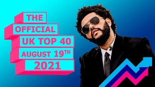 U.K Official Chart Top 40 (August 13th, 2021)
