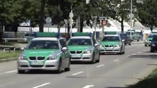 11x Polizei + KTW Malteser München