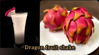 dragon fruit milkshake  Healthy milkṡhake recipe.