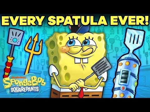 Every Spatula SpongeBob Ever Used 👨🍳 | SpongeBob