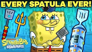 Every Spatula SpongeBob Ever Used  | SpongeBob