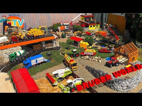 BRUDER TOYS BEST of #Traktor, Trucks, RC, #Excavators for Kids