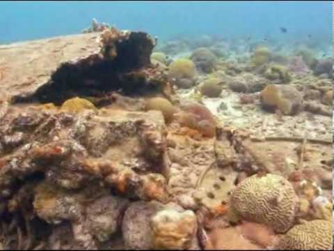 Crash site - USS Erie wreckage