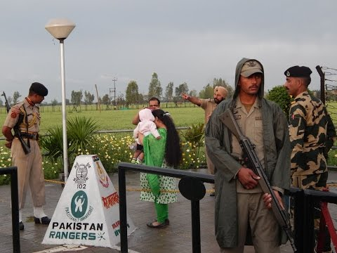 Zero Point Wagah Border Lahore (Pakistan Rangers Protocol)