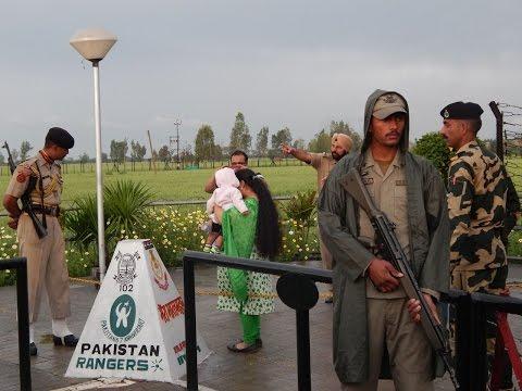 Zero Point Wagah Border Lahore (Pakistan Rangers Protocol)