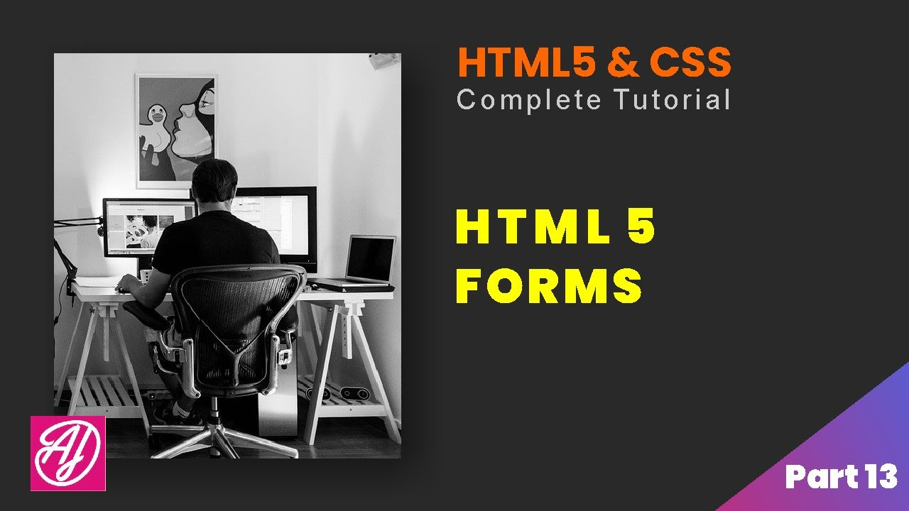 Forms in HTML - HTML and CSS Complete tutorial Part 13