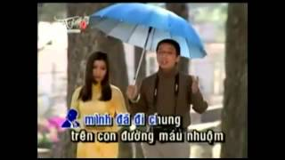 Karaoke LK mai lỡ hai mình xa nhau _ đừng nói xa nhau - Song (The Chau ft Phuong Trang)