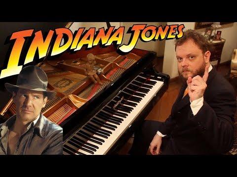 Musica de Indiana Jones theme on piano