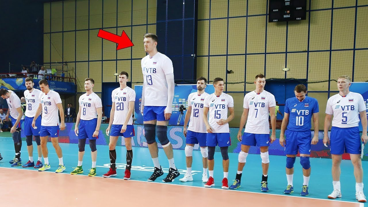 HERE'S What Happens When a Volleyball Player is 219cm Tall !!!