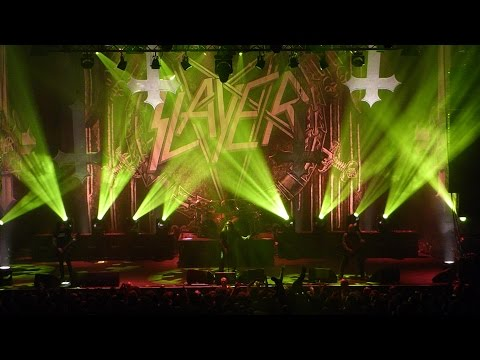 Slayer - Repentless+When the Stillness comes+Vices live @ 013 (Tilburg, NL) October 25th 2015