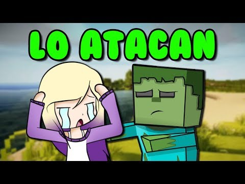 ATACAN AL ZOMBIE... ¿PUEDE MORIR? ? | Minecraft Roleplay thumbnail