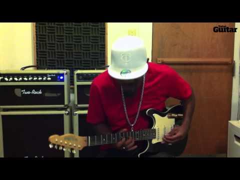 Guitar Lesson: Eric Gales - Phrasing around chord tones (TG251)