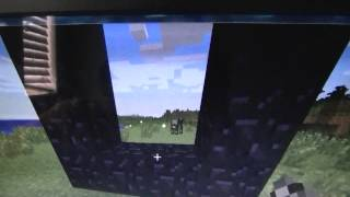 how to build a portal to the nether in minecraft 1.7.10 PC