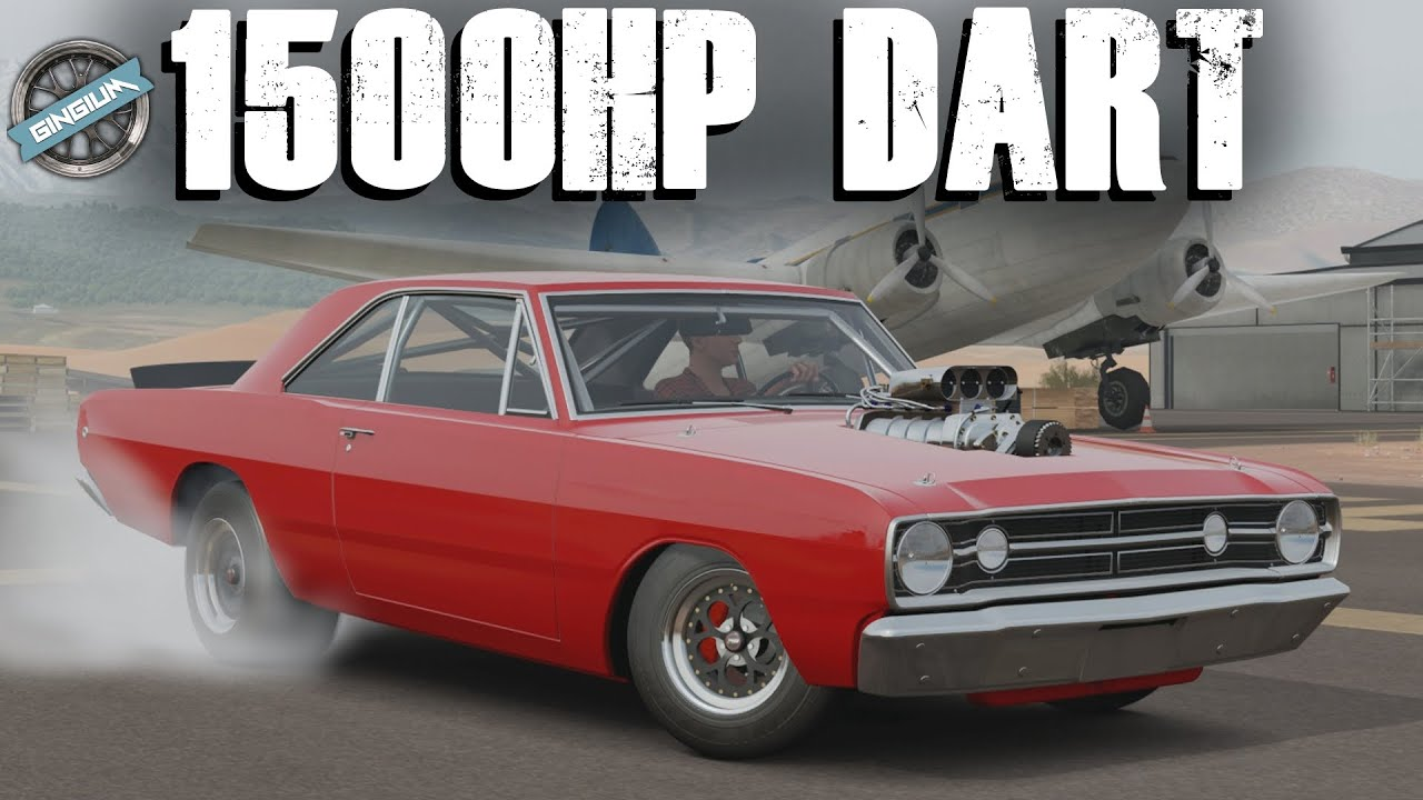 Dodge Dart Super Stock Drag Build Forza Horizon