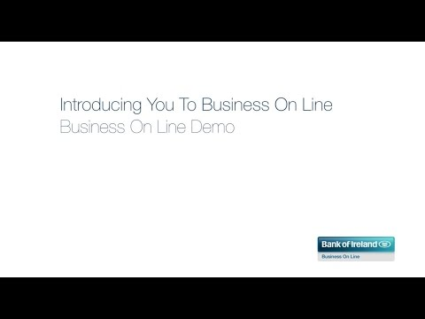 Bank Of Ireland Business On Line Demo