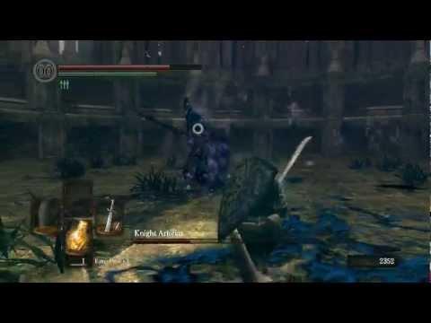 Dark Souls - Knight Artorias Boss Fight