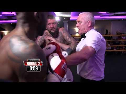 Mitch Duffus vs Kevin Bailey   BBU British Cruiserweight Title