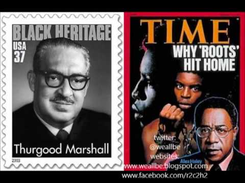 Bro. Dick Gregory: Thurgood Marshall and Alex Haley were