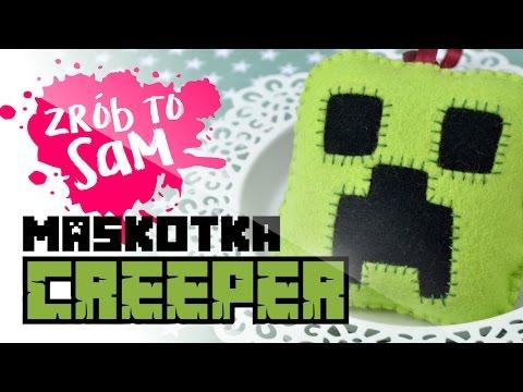 MASKOTKA CREEPER - ZRÓB TO SAM! + 🎁Giveaway!