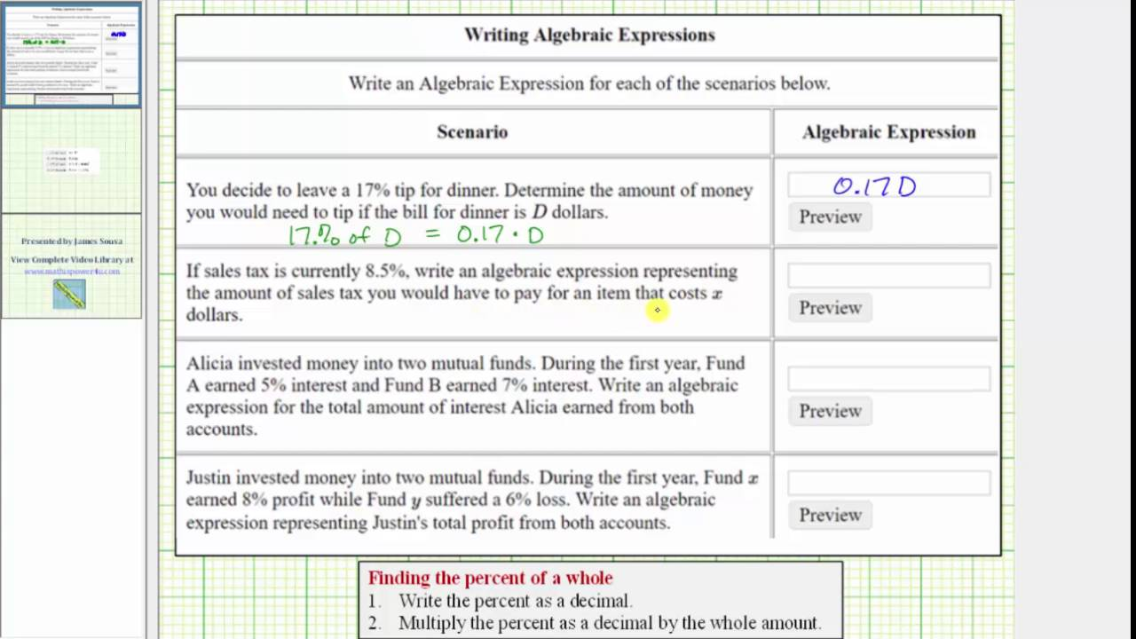 how to write algebraic expressions Practice math problems like write mathematical expressions with interactive online worksheets for 5th graders splash math offers easy to understand fun math lessons aligned with common core.