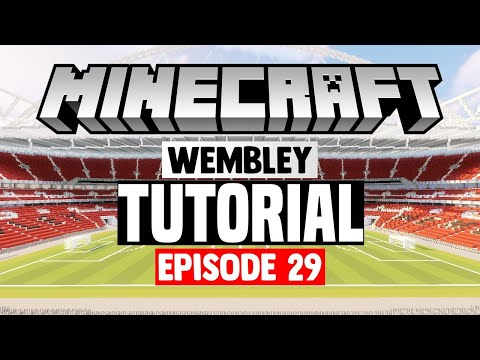 Minecraft Stadium Builds: Wembley Stadium [29] Stands