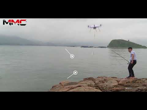 MMC Mercury 480 Maritime Drone, 100% Waterproof Drone for Fishing, Sea Patrol and Rescue