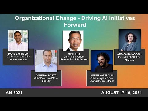 Organizational Change - Driving AI Initiatives Forward