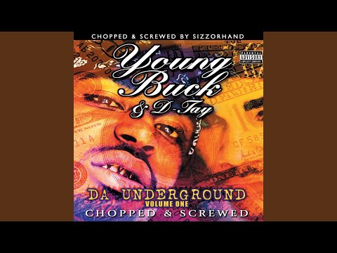 young buck caught in the wind chopped screwed