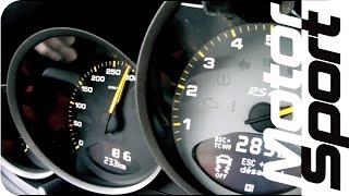 0-300 km/h Porsche 911 GT3 RS 4.0 (Motorsport)