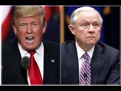 IN A RARE MOVE AG SESSIONS ISSUES RESPONSE TO TRUMP'S TWITTER FURY!