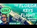 Flying to the Florida Keys - Truly Amazing Cockpit View!