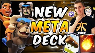 New Ram Rider Deck! Super Fast Cycle! | SirTagCR - Clash Royale ▻ S...