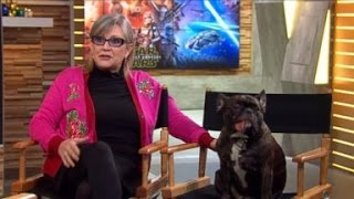 Carrie Fisher Dishes on Return to 'Star Wars'