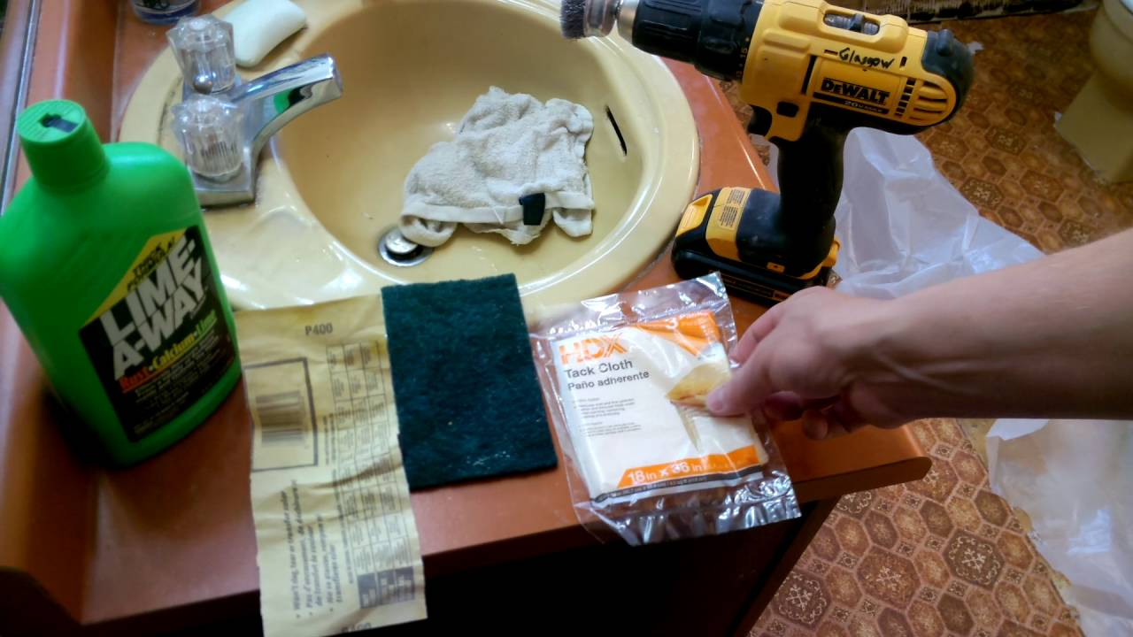 Rust-Oleum Tub & Tile Refinishing Kit - YouTube
