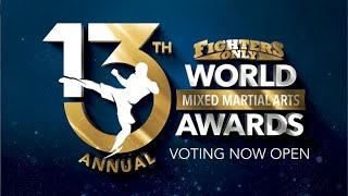 VOTING IS NOW OPEN! - The 13th Annual World MMA Awards