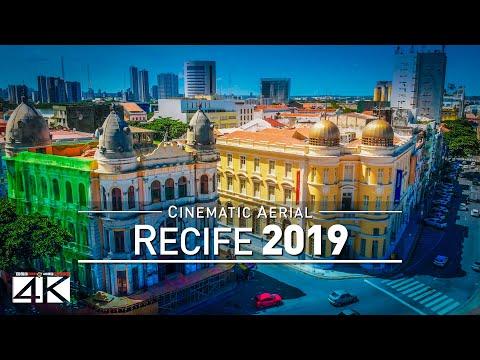 【4K】Drone Footage | RECIFE ..:: Capital of Pernambuco 2019