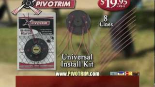Amazing PivoTrim String Trimmer Head - Commercial As Seen On TV