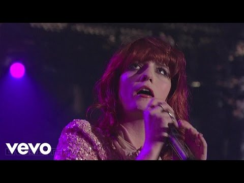 Florence + The Machine - Girl With One Eye (Live on Letterman)
