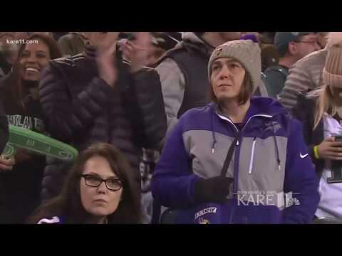 Vikings fans experience heartbreak in Philadelphia