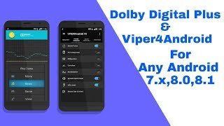 Video Install Dolby Digital Plus & Viper4Android On Android-7.x,8.0,8.1 [How To] download MP3, 3GP, MP4, WEBM, AVI, FLV Oktober 2018