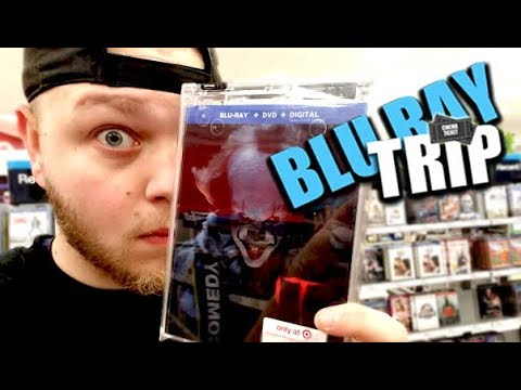 IT Blu-ray Trip! (Steelbooks Float Down Here)