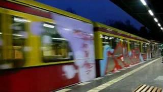 Berlin Graffiti S-Bahn 2008
