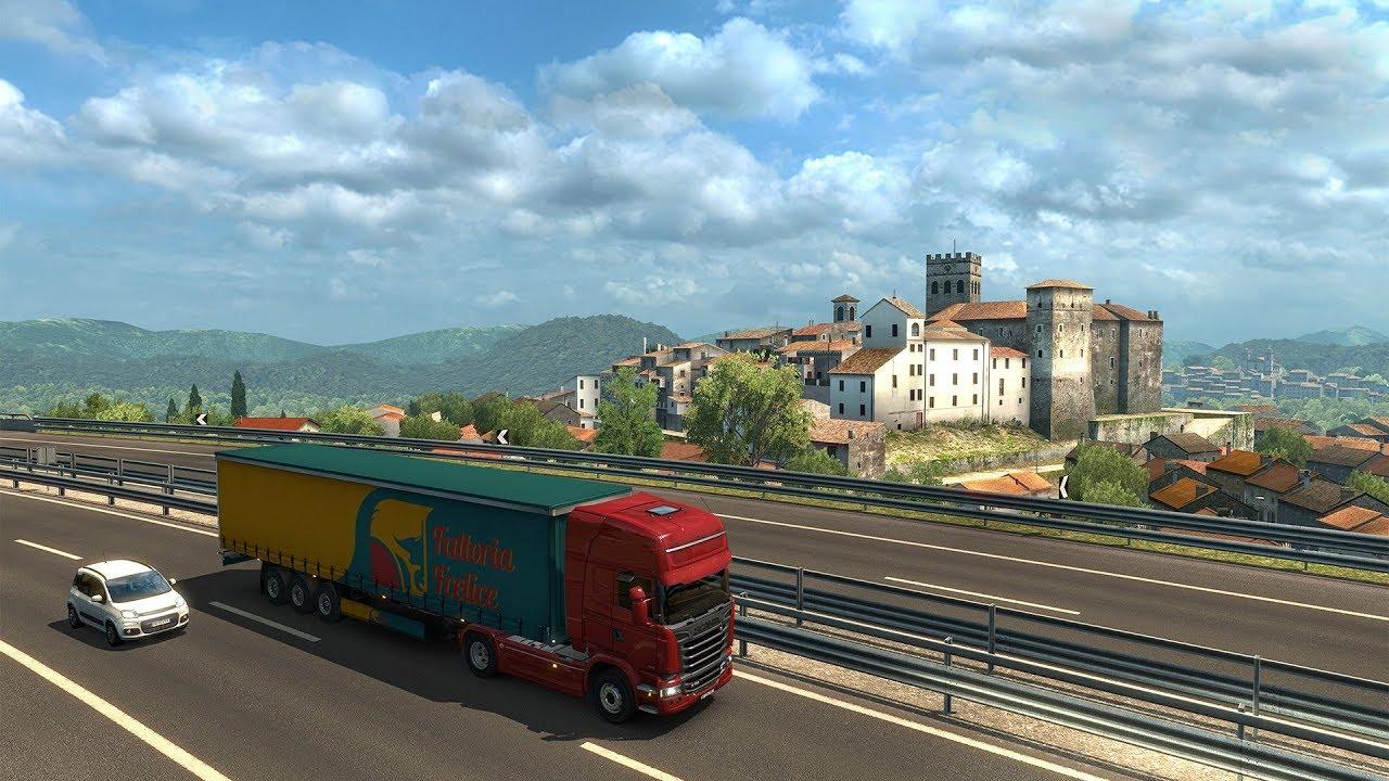 EURO TRUCK SIMULATOR 2 – ITALIA - Download [PC Game] - Download Euro Truck  Simulator by SCS Software