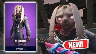 NEW NITEHARE Skin Gameplay in Fortnite!