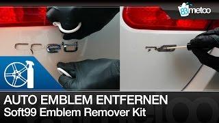 Schriftzug entfernen, Auto Emblem bzw. Logo spurlos entfernen   Soft99 Emblem Remover Kit