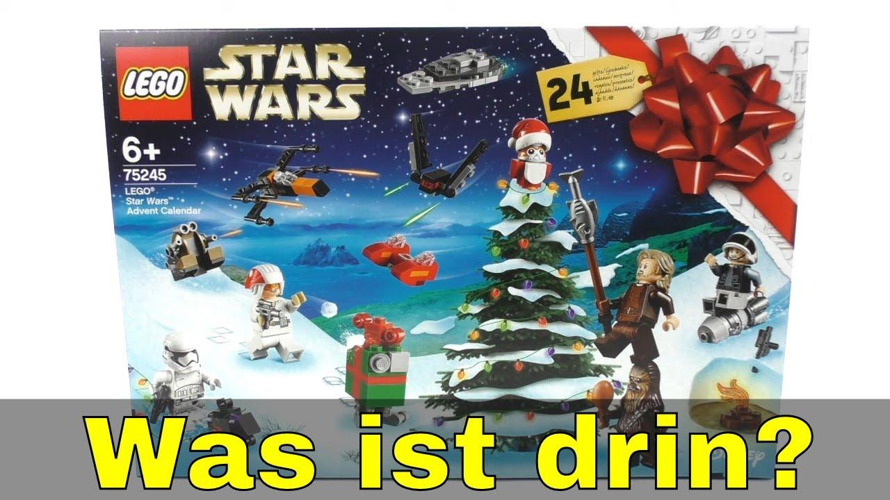 Lego Weihnachtskalender 2019.Was Ist Drin Im Lego Star Wars Adventskalender 2019 75245