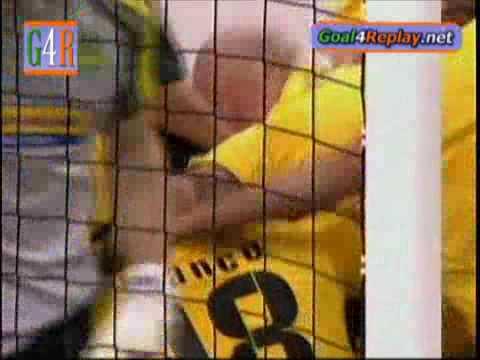Aek Athens vs Vaslui 1-0 Manduca 59