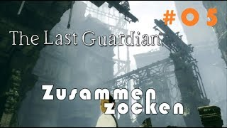 The Last Guardian #05 - Ganz schnell zum Hebel! [german blind lets play]